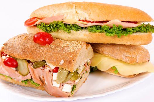 Sandwichs are ready