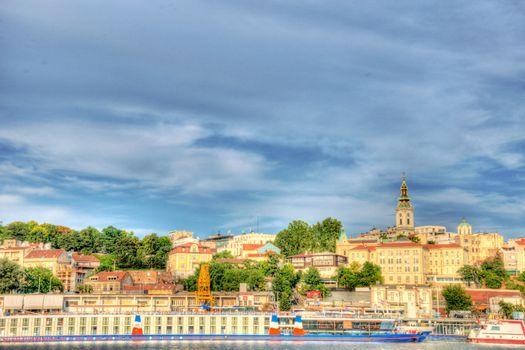 Belgrade harbor hdr