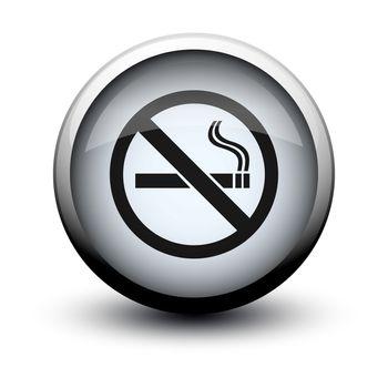 button no smoking 2d