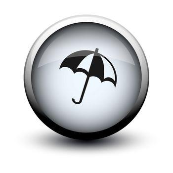 button umbrella 2d