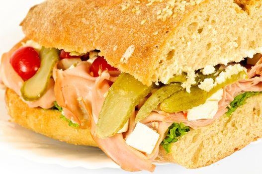 Side view sandwich