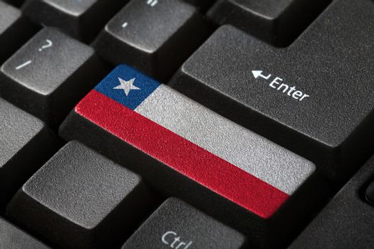 The Chile flag