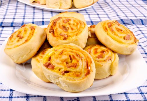 Bunch of pastry