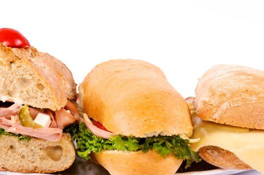 Isolated sandwichs
