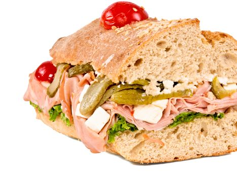 Closeup sandwich