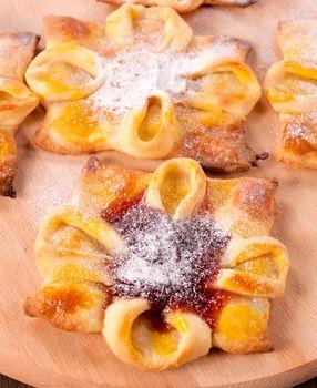 Jam pastry
