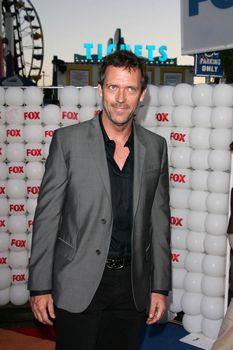 Hugh Laurie At the FOX Summer 2005 TCA Party, Santa Monica Pier, Santa Monica, CA 07-29-05