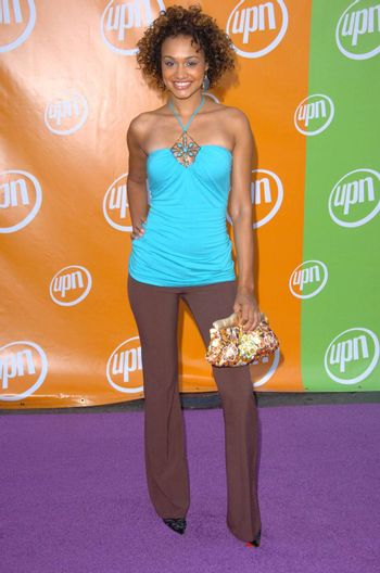 Mercedes Yvette At the UPN Summer TCA Party, Paramount Studios, Hollywood, CA 07-21-05