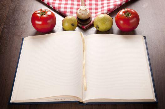 Cookbook and food