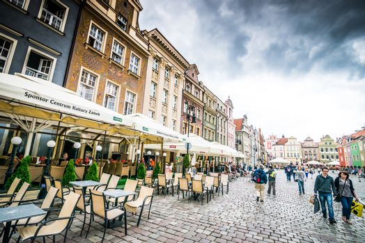 The central square of Poznan