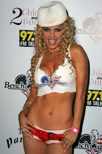 Lisa Ligon at Bench Warmer's 2nd Annual 4th of July Celebration, The Day After, Hollywood, CA 06-29-05