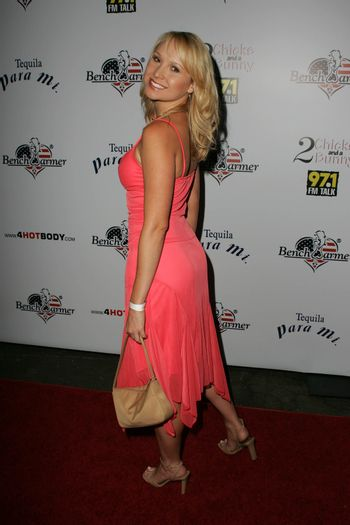 Alana Curry at Bench Warmer's 2nd Annual 4th of July Celebration, The Day After, Hollywood, CA 06-29-05