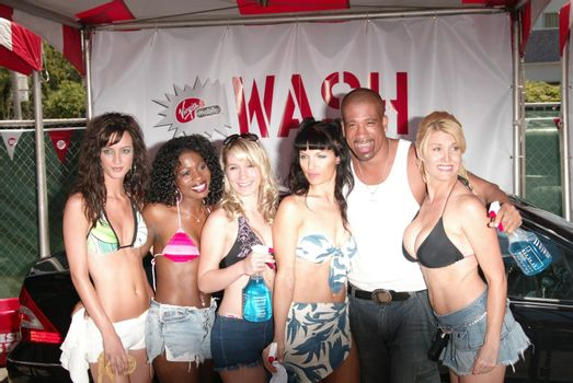 Dorian Gregory at the Summer BBQ Tour 2005, Private Location, West Hollywood, CA 06-18-05
