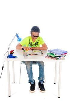 making homework