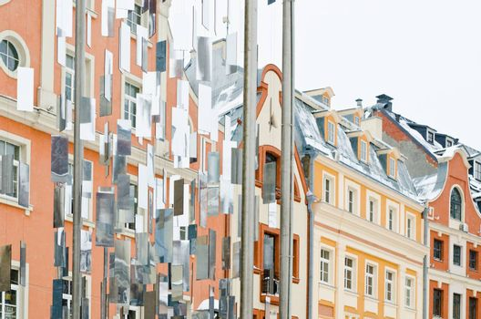Facades of houses in Old Riga