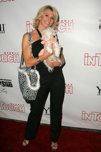 Tamie Sheffield at the In Touch Presents Pets And Their Stars Party, Cabana Club, Hollywood, CA 09-21-05