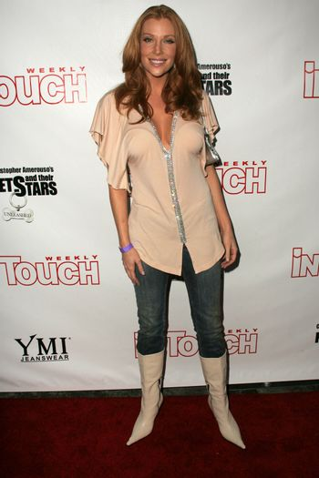 Angelica Bridges at the In Touch Presents Pets And Their Stars Party, Cabana Club, Hollywood, CA 09-21-05