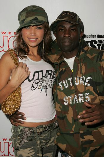 Jackie Wells and Sam Sarpong at the In Touch Presents Pets And Their Stars Party, Cabana Club, Hollywood, CA 09-21-05