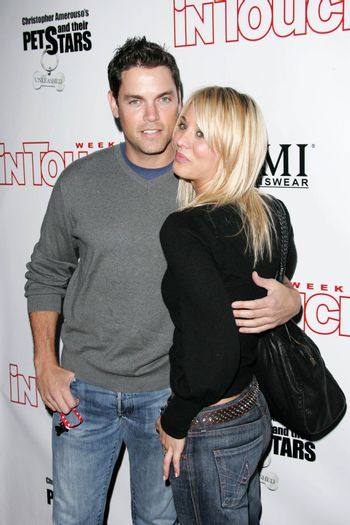 Jaron Lowenstein and Kaley Cuoco at the In Touch Presents Pets And Their Stars Party, Cabana Club, Hollywood, CA 09-21-05