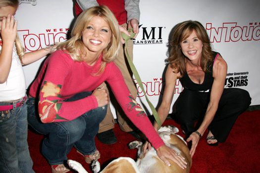 Donna D'Errico and Linda Blair at the In Touch Presents Pets And Their Stars Party, Cabana Club, Hollywood, CA 09-21-05
