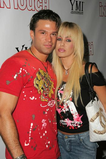 Kostas Sommer and Shauna Sand at the In Touch Presents Pets And Their Stars Party, Cabana Club, Hollywood, CA 09-21-05