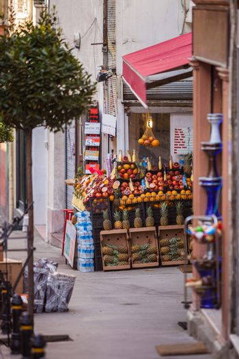 Istanbul Fruit Stand