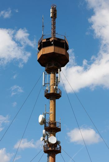Old communication tower