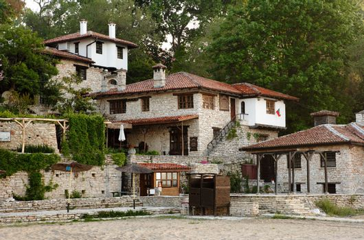 Balchik, houses from the palace complex