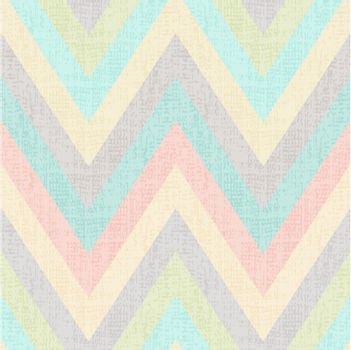 seamless pastel multicolors grunge textured chevron pattern