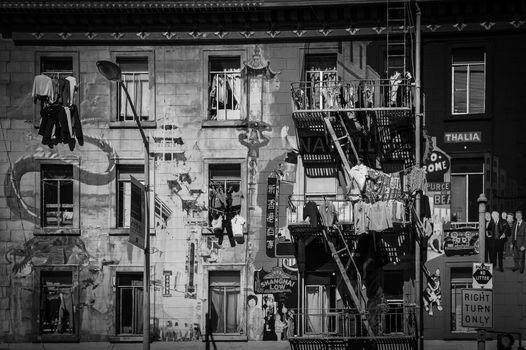 Balcony and Clothesline