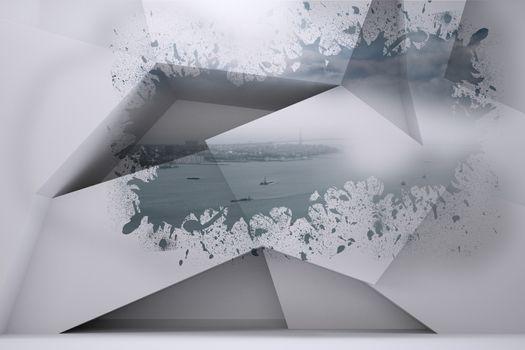 Splash showing coastline