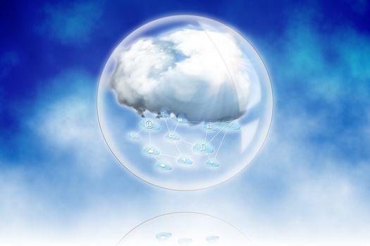 Cloud computing sphere