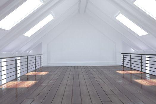 White loft area