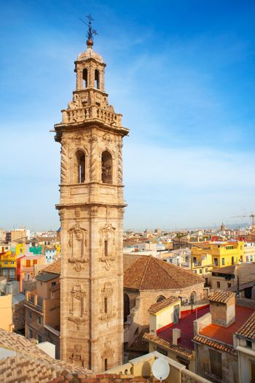 Santa Catalina church tower in Valencia