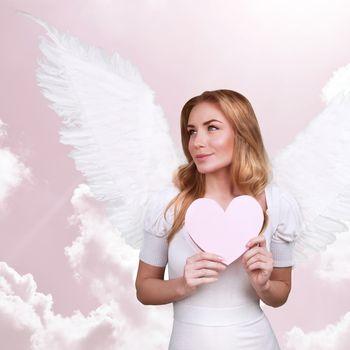 Sweet cupid girl