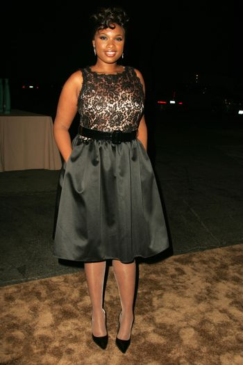 Jennifer Hudson at the 2nd Annual A Fine Romance, Hollywood and Broadway Musical Fundraiser. Sunset Gower Studios, Hollywood, CA. 11-18-06