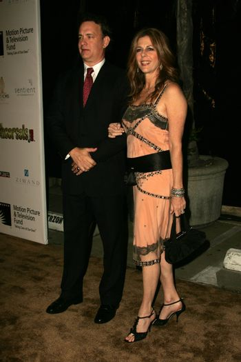 Tom Hanks and Rita Wilson at the 2nd Annual A Fine Romance, Hollywood and Broadway Musical Fundraiser. Sunset Gower Studios, Hollywood, CA. 11-18-06