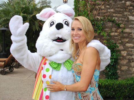 Alana Curry at the Playboy Mansion Easter Egg Hunt. Playboy Mansion, Los Angeles, CA. 04-07-07