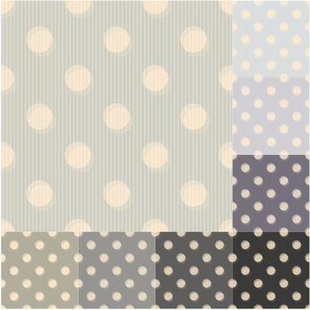 seamless grey black polka dots striped pattern