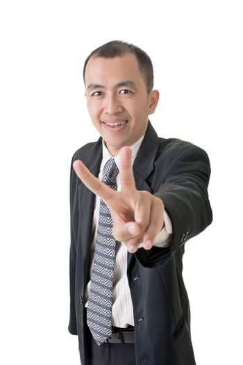 peace or victory sign