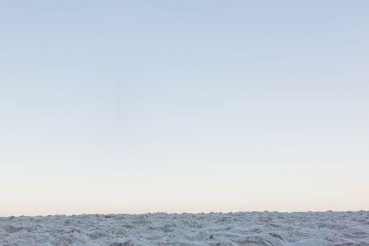 Horizon over the sand