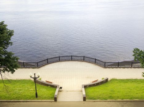 Volga embankment