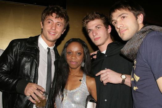 Devin Sims and Charmaine Blake with Dan Koz and Ali Spano /ImageCollect