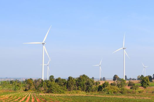 Wind turbine power generator