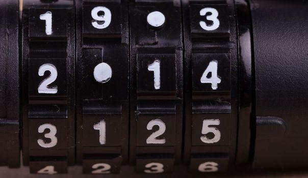 Combination padlock 2014