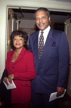 Bernard Parks and wife/ImageCollect