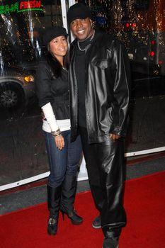 Barry Bonds and wife Liz /ImageCollect