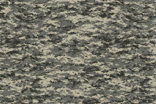 Digital military camo texture, for future military usage concept