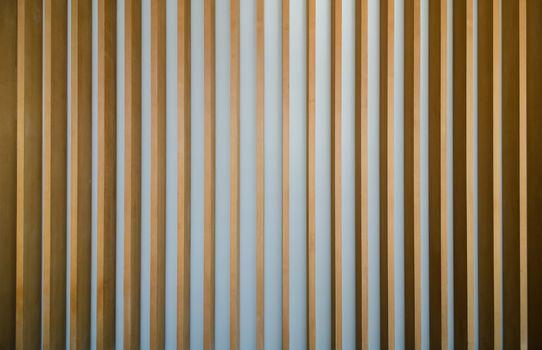 wooden fin facade background