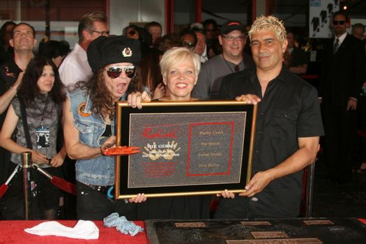 Don Bolles with Lorna Doom and Pat Smear /ImageCollect